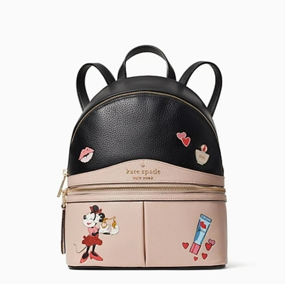Kate Spade Minnie Mouse Medium Backpack New!